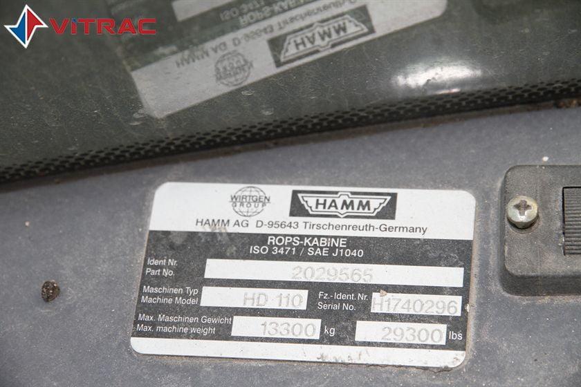 HAMM HD 110 - 2008