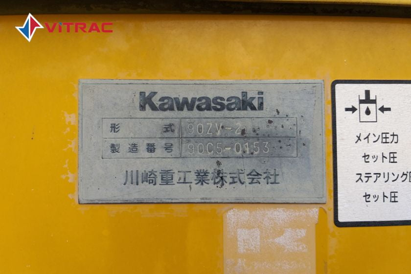 Xe xúc lật KAWASAKI 90ZV-2