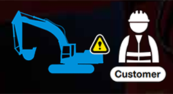 consite hitachi máy đào máy xúc lật